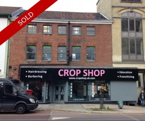 Multi-floor retail unit overlooking Norwich Castle. Let as Cropshop Hairdressers on a 15 year lease at £35,000 pa.