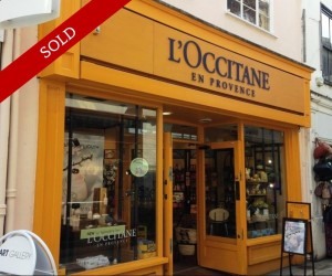 Handsome retail unit in the heart of heritage shopping area. Let to L'Occitane Ltd on a 10 year lease at £45,000 pa.
