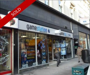 City centre 2,648 sq ft retail unit over ground and lower ground floor. Let to Game Retail Ltd at £58,000 pa.