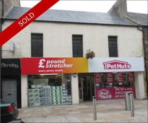 Town centre retail investment over ground and two upper floors. Let to Poundstretcher Ltd at £65,000 pa.