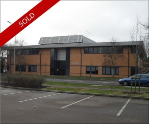 Investment to PLC. 27,000 sq ft office building with 94 parking places. Rental income £250,000 pa rising to £270,000 pa
