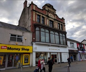 Multi-floor Retail Unit in Great High Street Location. Let to Bonmarché on a 10 year lease at £75,000 p.a.