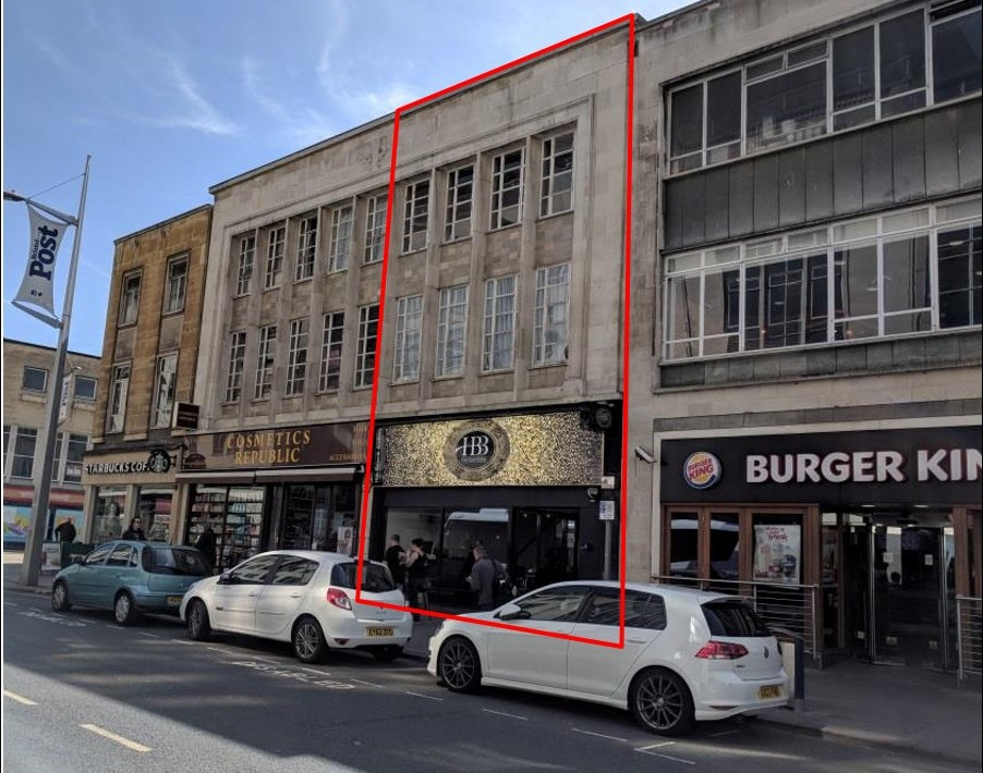 Busy retail unit let to hairdressers/training academy for 5 Years at £37,500 p.a. rising annually to £45,000. p.a.