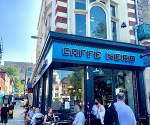 Multi-floor retail unit overlooking Norwich market. Let as Caffè Nero on a 5 year lease at £68,000 p.a.