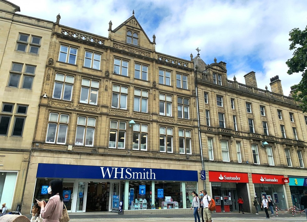 100% prime retailing location on Fargate, Sheffield's premier pedestrianised retailing thoroughfare let at £385,000 p.a.