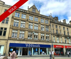 6 years unbroken term, Outstanding covenant, Sheffield's prime pedestrianised road let at £385,000 p.a.
