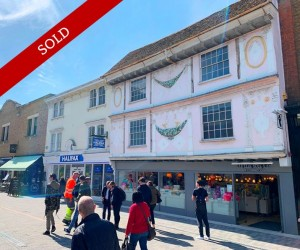 Charming grade II listed freehold in prime position let to Tiger Retail Limited at £75,000 p.a.