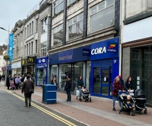 Development Opportunity Adjacent to Marks & Spencer, Primark and Seaside. Current rental income of £129,250 p.a.